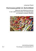Cover Investigaciones Band 15 (Homosexualität im Schnittfeld)